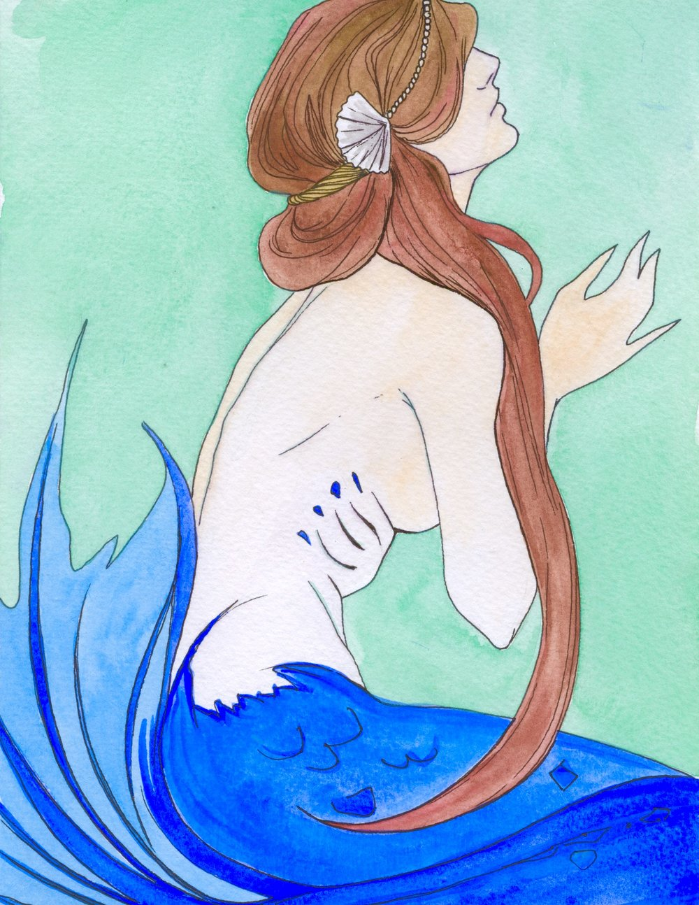 La Sirena, from LOTERIA series