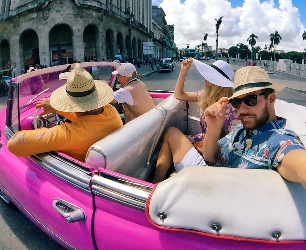 We wouldn't have been able to snap photos all day in Havana without charging on the Mophie.