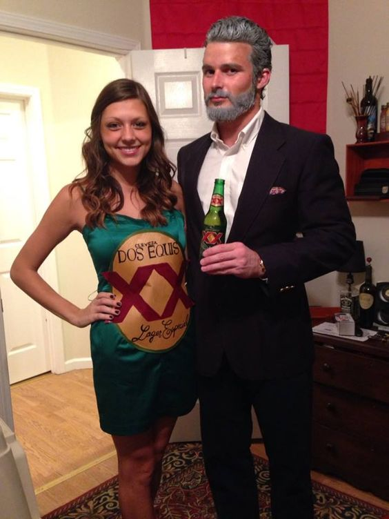 The Most Interesting Man In The World u0026 a Dos Equis  sc 1 st  The LadyGang & 47 EPIC Couples Halloween Costumes For 2016 u2014 THE LADYGANG