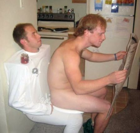 Guy on a Toilet  sc 1 st  The LadyGang & 47 EPIC Couples Halloween Costumes For 2016 u2014 THE LADYGANG