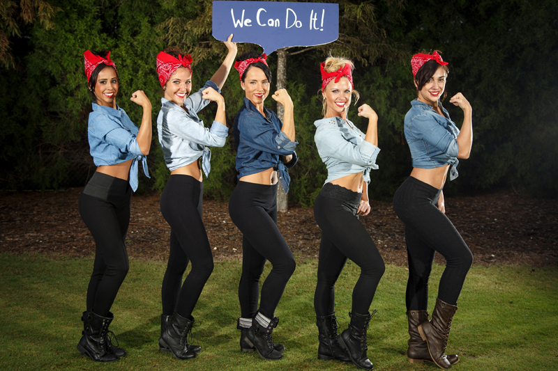 powerful women group halloween costumes