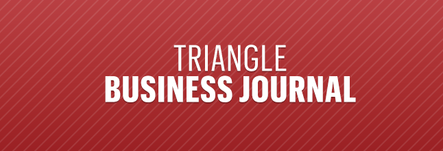 Triangle Business Journal logo.