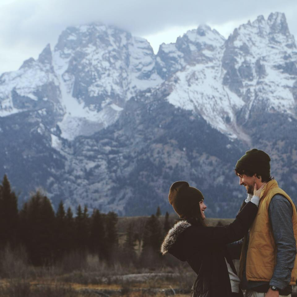 November: The Grand Tetons with Thayer and of course, Nelson.