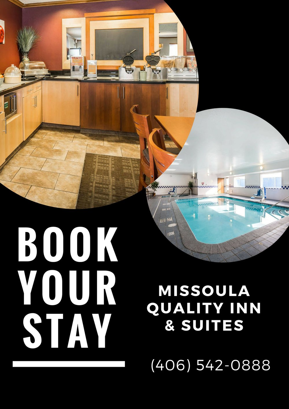 Sample of work for Missoula Quality Inn Client located in Missoula, MT