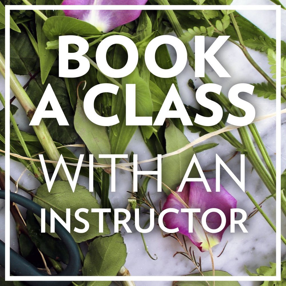 Our classes are booked with Field Of Flowers, our parent company. Click to get redirected and make a booking.