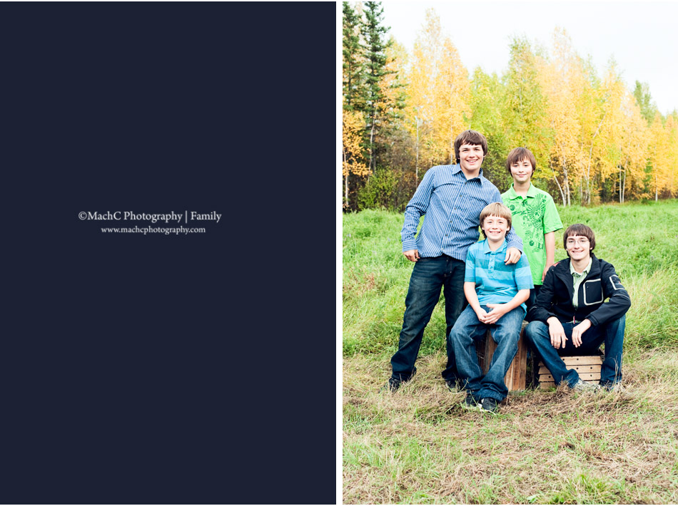 september fall family photography in fairbanks alaska