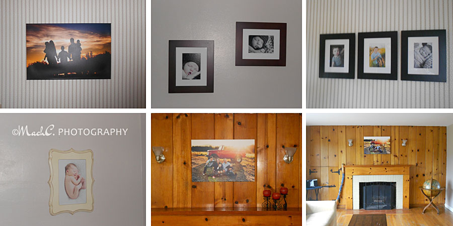 MachC wall art collage