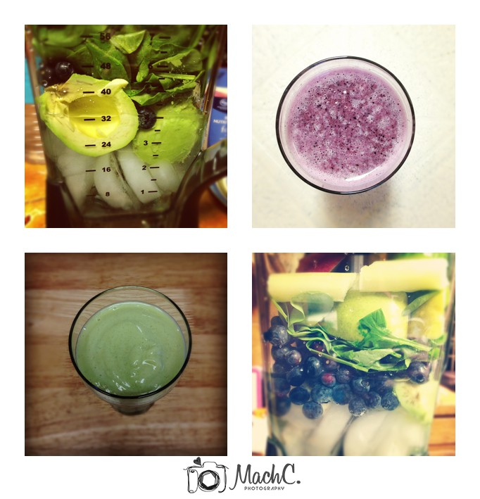 MachC Photography green smoothies