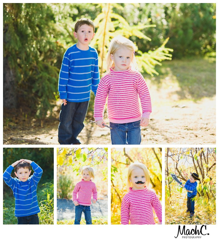 fun kids pics in fairbanks botanical gardens