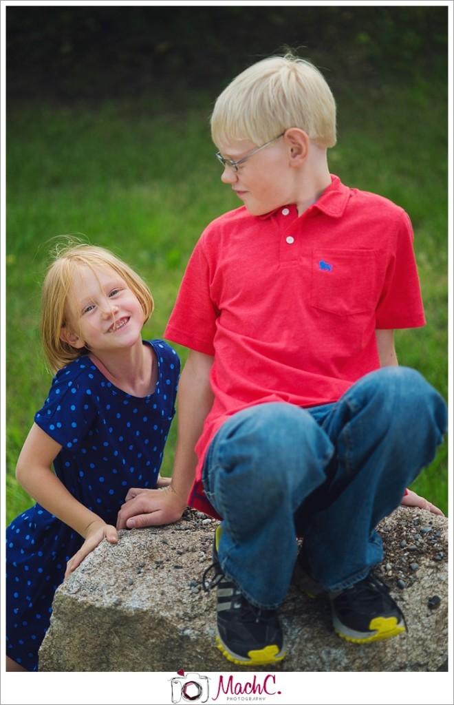 kids photobomb