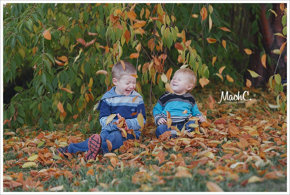 fairbanks family photos in the fall