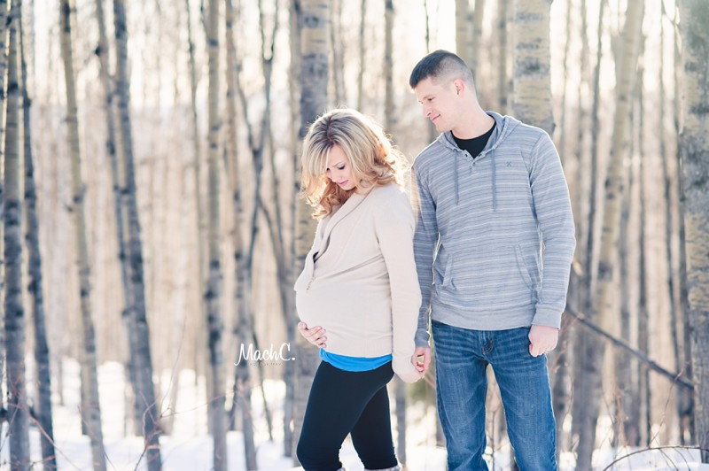 winter maternity