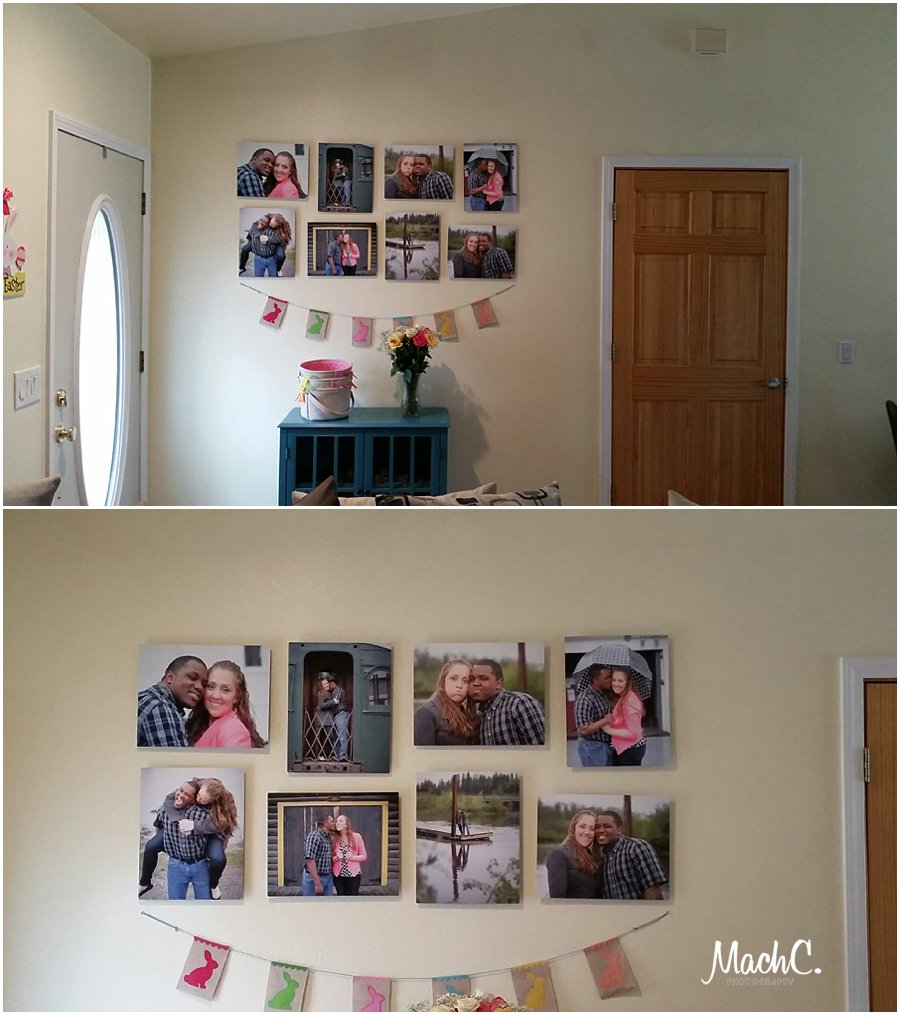 wall display in home MachC Photography