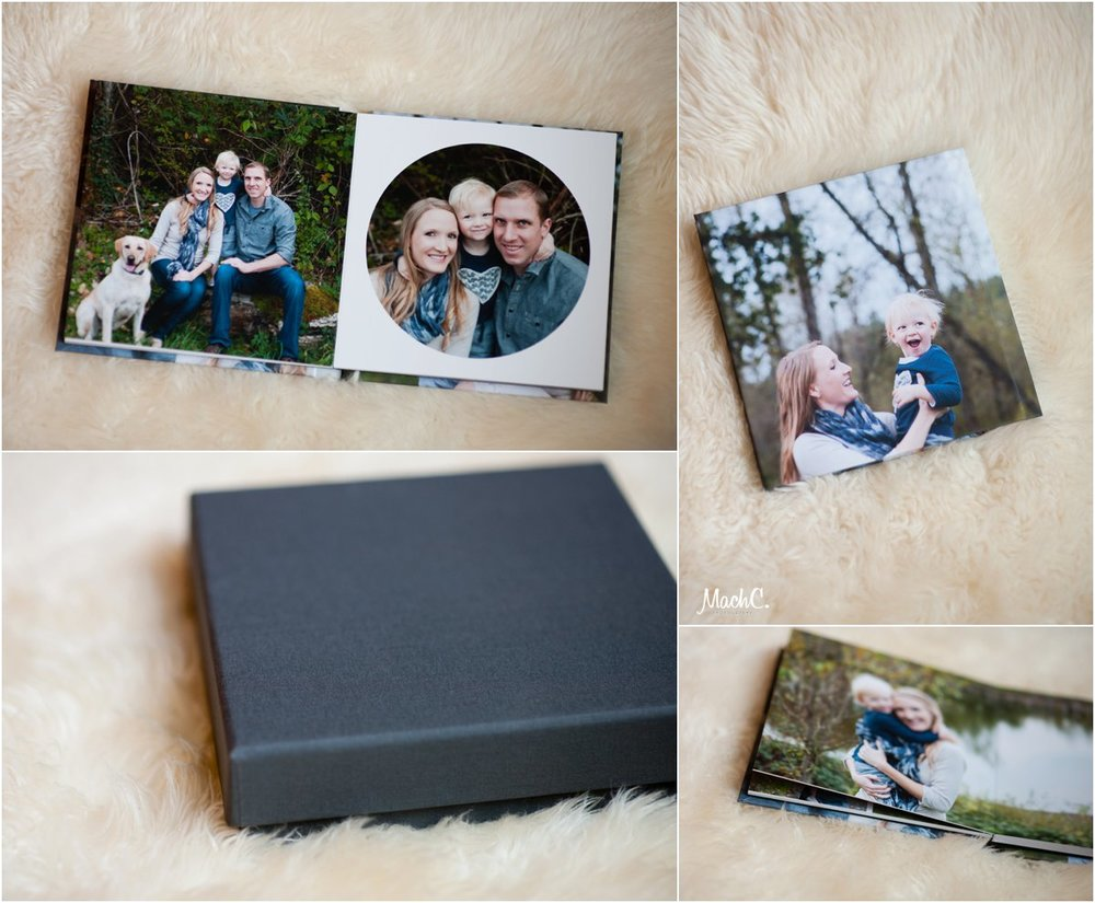 Beautiful heirloom album, with presentation box for safe keeping.