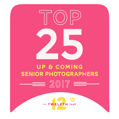 In other news, MachC Photography was named one of the top 25 Up & Coming Senior Photographers in December 2017!
