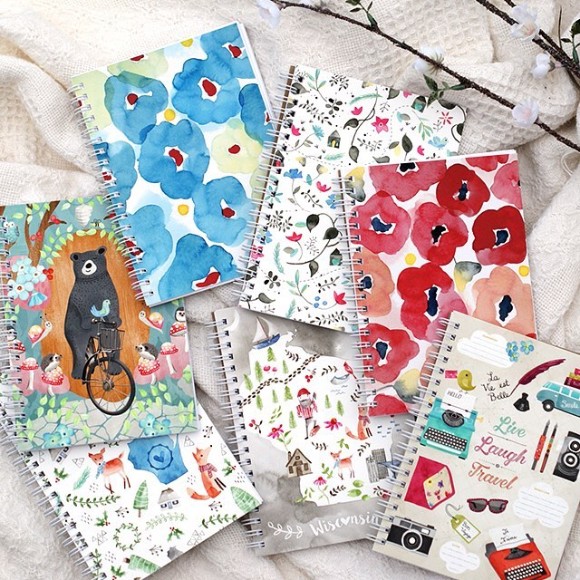 Christmas is around the corner and this sale just landed in the shop! I'm clearing out these oldies but goodies to make room for the new. These 5x7 notebooks are 40% off, while supplies last. Link in profile.