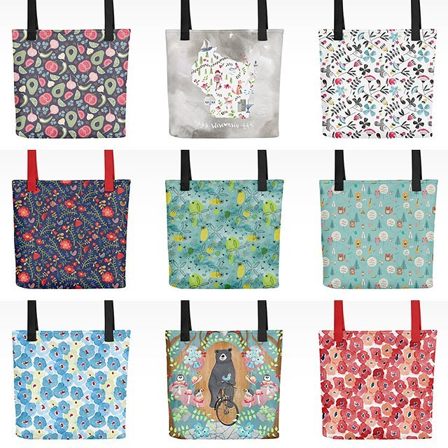 Introducing tote bags! These beauties have just been added to the shop and we are celebrating with 15% off to finish a week of anniversary sales! Price is already reduced in the shop, on sale through Friday, 11/17. Also, those pillows from one post back are on sale through today. Link in profile.