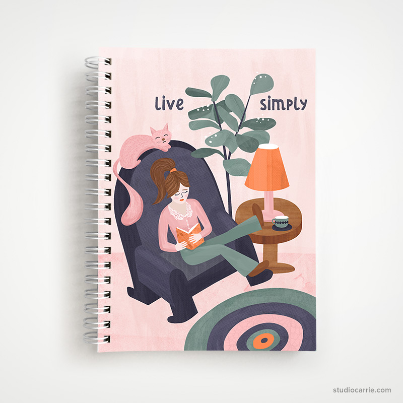 Live Simply Undated Weekly Planner