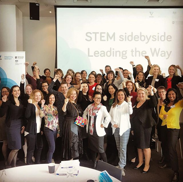 Honored to deliver a special masterclass to an inspiring group of #superwomen that were selected to participate in the VESKI STEM Side-By-Side Program #leadingtheway #empowerthefuture #girlpower💪