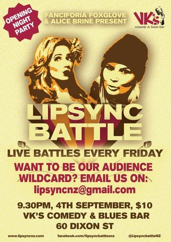 Lipsync Battle events