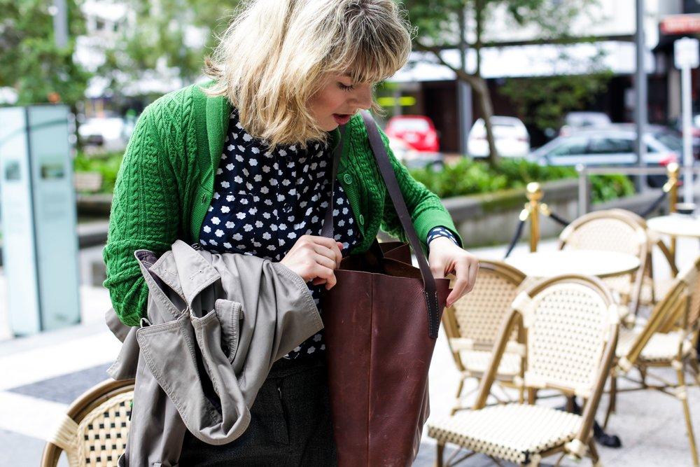 Bag:  Meniscus Leather Goods