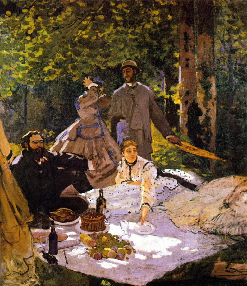 Claude Monet: Quite A Good Artist (Dejuneur Sur L'Herbe)  1865-1866
