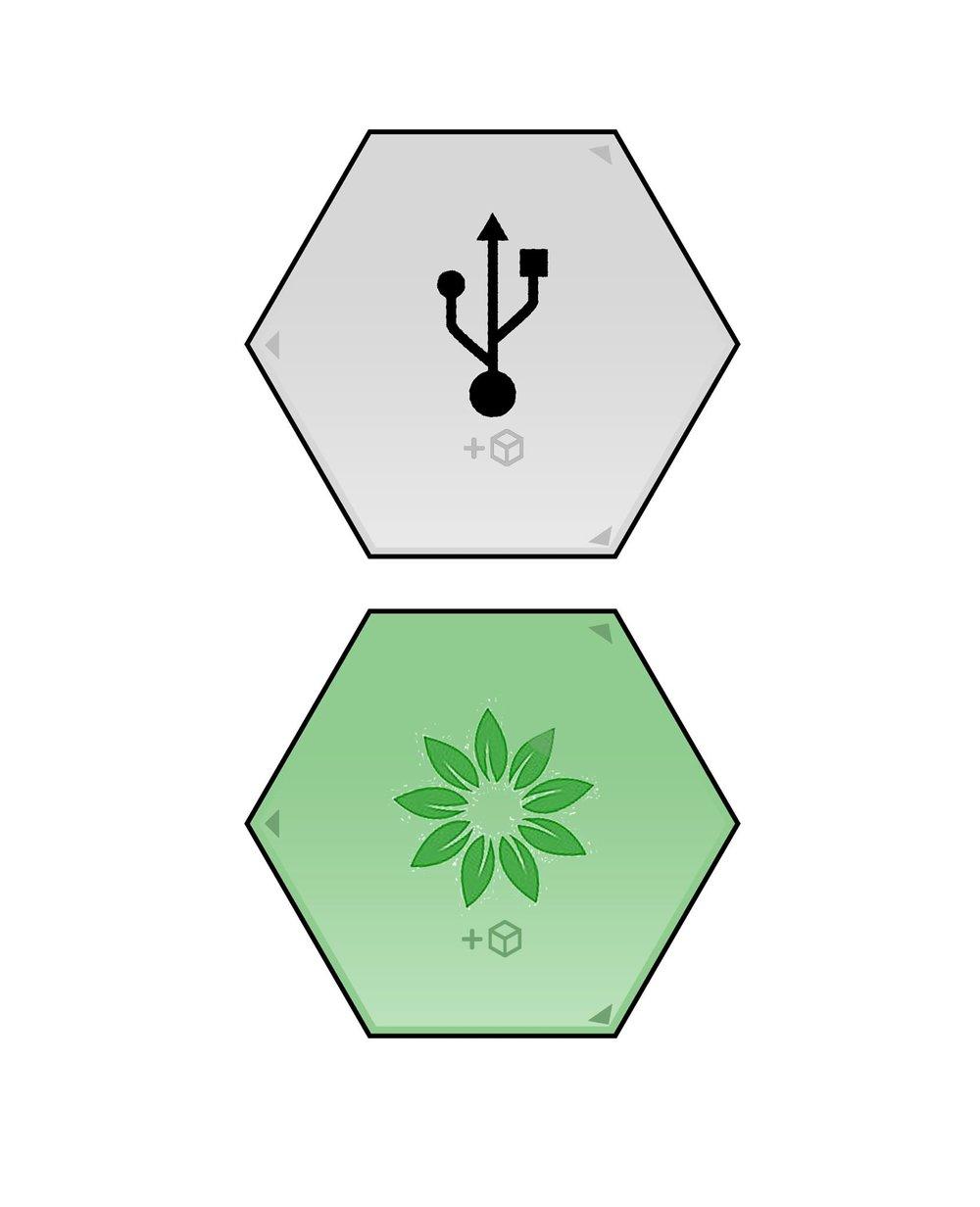 Initial tile concepts