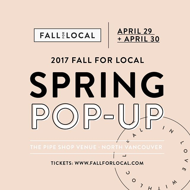 We'll be at Fall for Local all weekend. See you there!  F A L L F O R L O C A L // This Spring fall in love with us at the 2017 @FallForLocal Spring Market kicking off on April 29 + 30, 2017. Learn more: http://bit.ly/FFLTickets17 #FallForLocal  #spicychai #chai #tea #chaitea #chaitealatte #masalachai #vancouver #vancity #indianchai #instalove #instatea #healthydrink #vancouvermakers #detox #madeinvancouver #madeinstrathcona #madeinbc #justchai #vegan