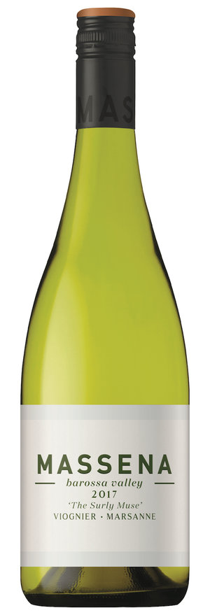 Image result for Massena The Surly Muse Barossa Valley Viognier Marsanne 2017
