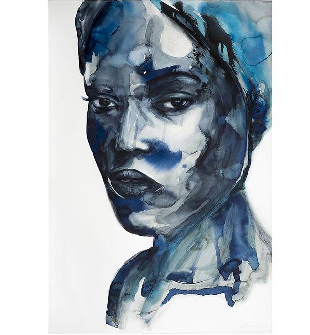 Portrait  Ink,  watercolour Available 50x70 cm . . . . .  #sydneyart #sydneyartist #newart #emergingartist #contemporaryart #originalartwork #australiaart #visualartist #contemporaryartist #modernartist #face #modernart #artworld #ink #watercolour #paintart #artbyer #buyart #fineartprint #artcollectors  #figurativepainting #light #portrait