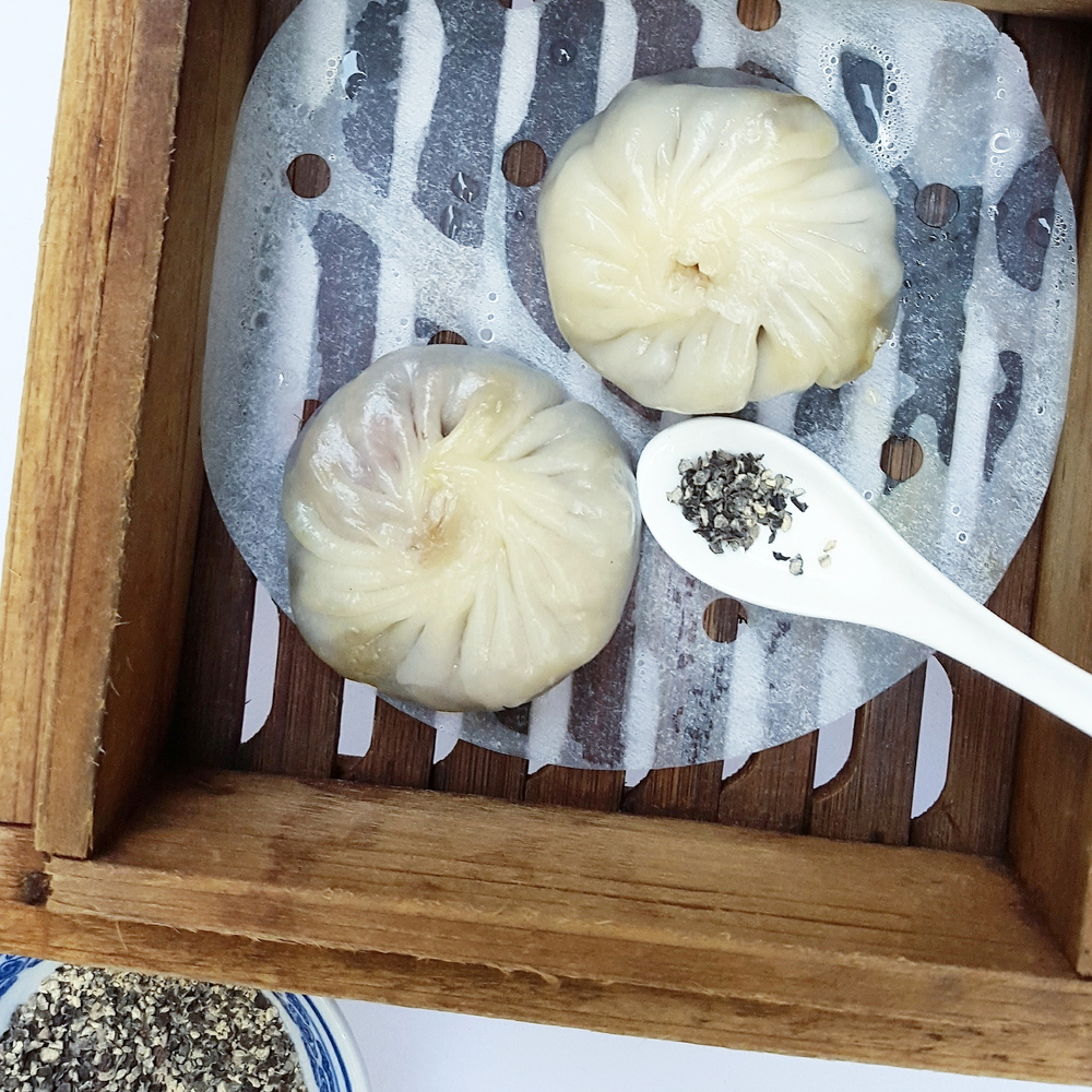 Foie Gras Xiao Long Bao at Manmo Café