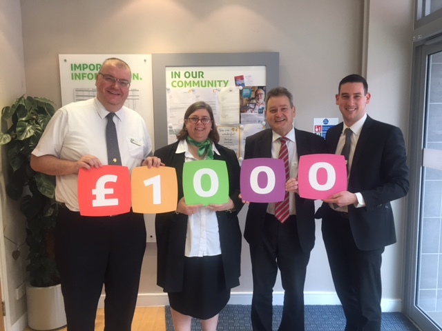 Donation from Yorkshire building Society