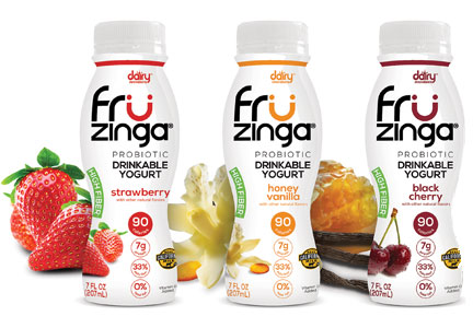 Innovation driving drinkable yogurt category.