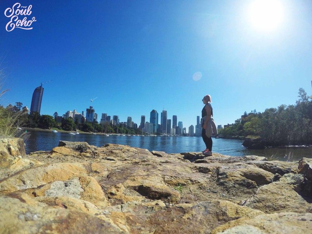Brisbane, she's a beauty of a backdrop for walks!