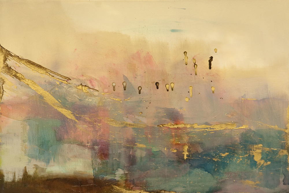 Roman Twilight  Oil on Canvas  80 x 100cm