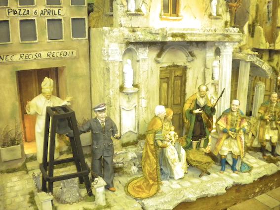 The Presepe per L'Aquila, 2009, Ferrigno workshop, Naples.
