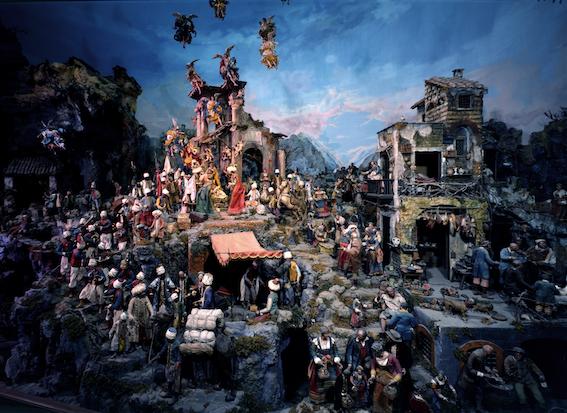 The 'Presepe Cuciniello'. Naples, Museo Nazionale di San Martino.