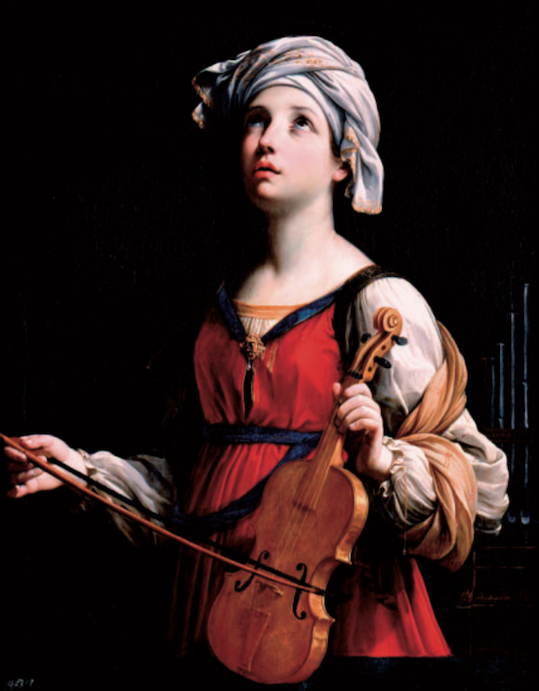Figure 9. Guido Reni (1575–1642), Saint Cecilia, 1606. Oil on Canvas. Courtesy of The Norton Simon Foundation.