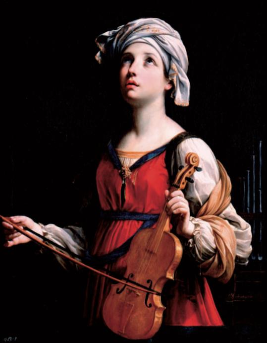 Figure 9. Guido Reni (1575–1642), Saint Cecilia, 1606. Oil on Canvas. Courtesy of The Norton Simon Foundation.