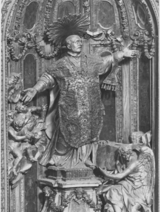 Figure 10. Pierre Legros, St. Ignatius 1697–99, remodelled by Luigi Acquisti, 1803–4. Chapel of St Ignatius, Il Gesu`, Rome.