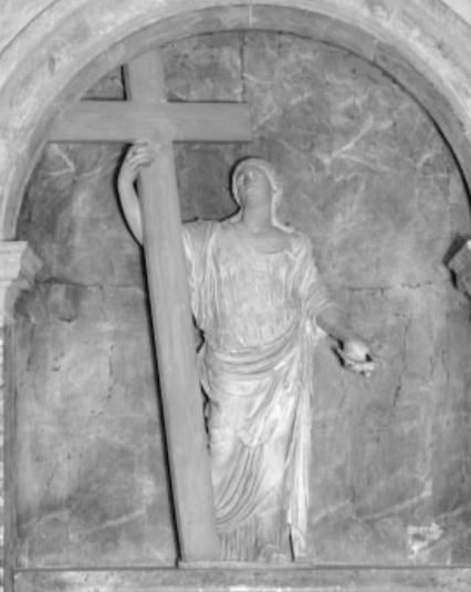 Figure 11. Statue of St Helena from the church of S.Croce in Gerusalemme, Rome.