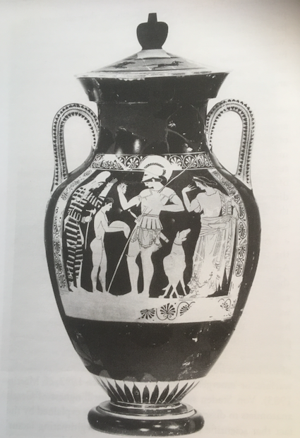 Figure 7. Red-figure amphora, sacrificial scene, 500-475BCe. Image courtesy of the Martin von Wagner Museum, Würzburg.