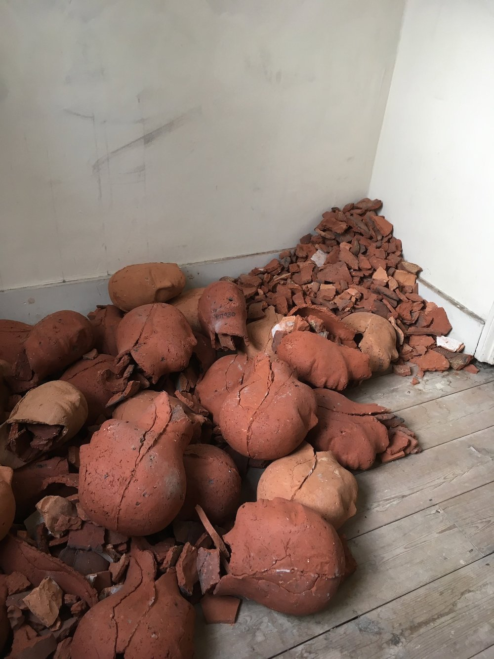 Christie Brown,  Ex-Votos , Terracotta, 2003.