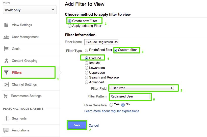 Filter Custom Dimension