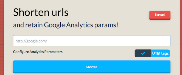 utm.io enable google analytics