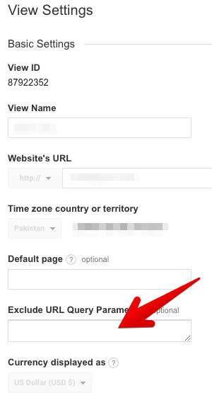 url query parameters