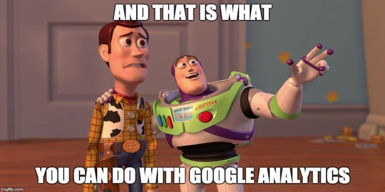 A big list of what Google Analytics can & cannot do
