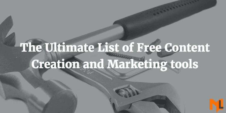 Content Creation Tools: The Complete List 2016