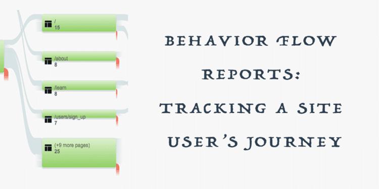 Behavior Flow Google Analytics: Tracking a User's Site Journey