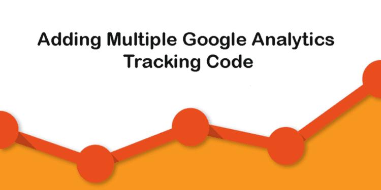 Adding multiple Google Analytics tracking codes to webpage